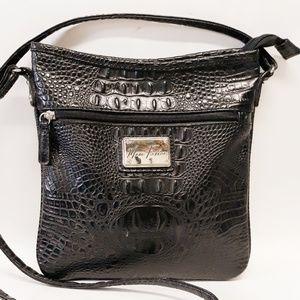 Bags - Marc Fisher Croc Crossbody LIKE NEW!